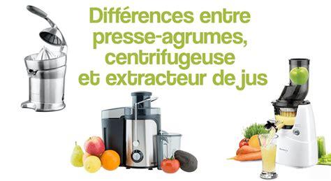 Extracteur De Jus Et Centrifugeuse by Diff 233 Rences Entre Presse Agrumes Centrifugeuse Et