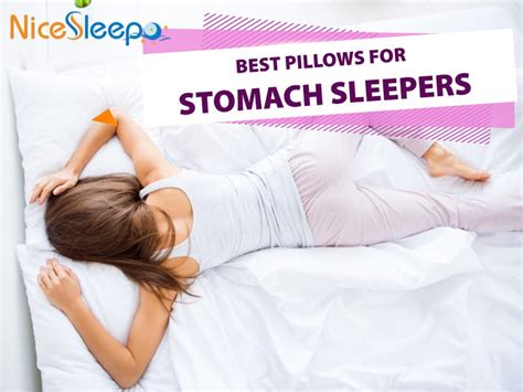 pillow for stomach sleepers best pillows for stomach sleepers 2019 top picks reviews