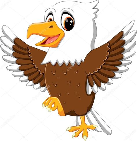 eagle clipart illustration of eagle stock vector