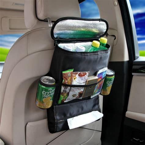 Car Organizer Car Seat Organizer Bag A287 Berkualitas car back seat organizer cooler bag black keeps your car