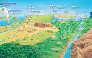 landforms at a glance