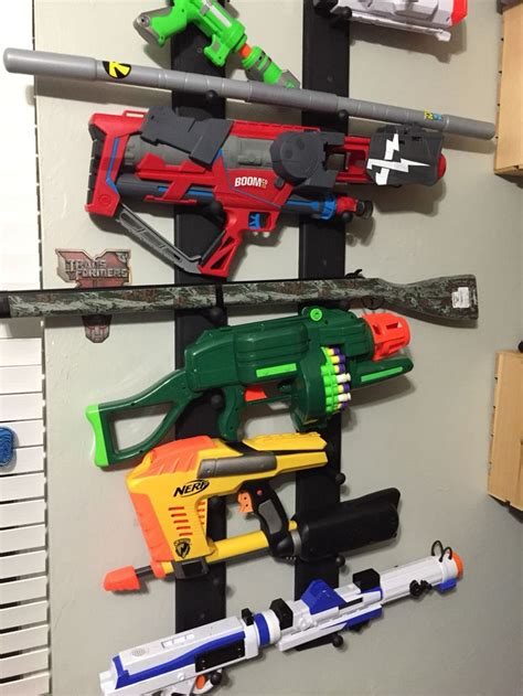 Nerf Gun Storage Rack by 17 Best Ideas About Nerf Guns On Shooting