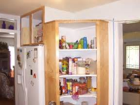 corner kitchen pantry cabinet to maximize corner spots at
