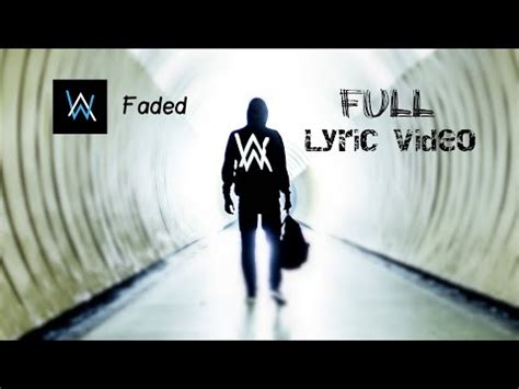 faded english mp3 download alan walker faded lyrics lyric video zapiszjako