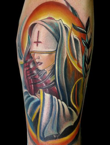 3rd dimension tattoo satanic by brian murphy tattoonow