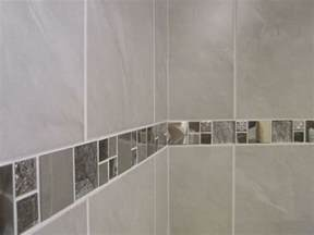 bathroom border tile designs 10 30m2 travertine effect grey ceramic bathroom wall tile