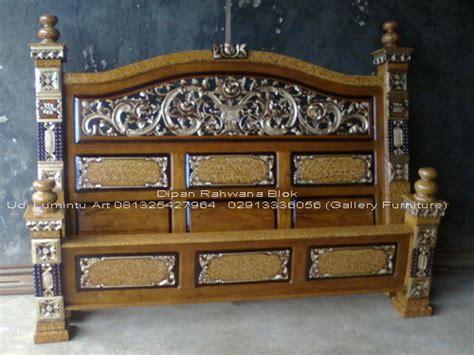 Dipan Ukir Kayu Jati dipan jati ukir rahwana blok size 180x200cm ud lumintu gallery furniture
