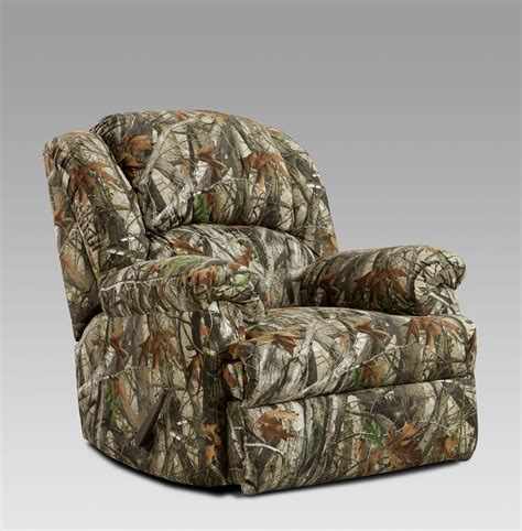 camo recliners next camouflage fabric rocker recliner camo reclining arm