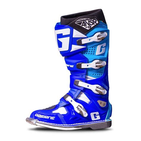answer motocross boots answer gaerne sg 12 boots blue cyan available at