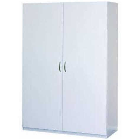 Closetmaid Linen Closet Closetmaid 48 In Multi Purpose Wardrobe Cabinet In White
