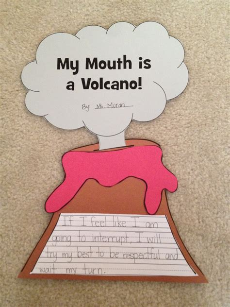 my mouth is a teaching my mouth is a volcano