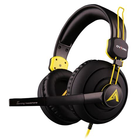 Headset Gaming X7 ovann x7 high end professional noise cancelling gaming headphone stereo headset with microphone