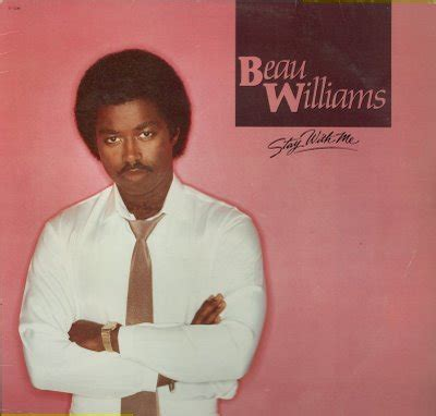 beau williams stay with me lp 1983 beau williams black