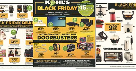 black friday comparison shopping printable creating my kohl s black friday ad 2017 mylitter one deal at a time