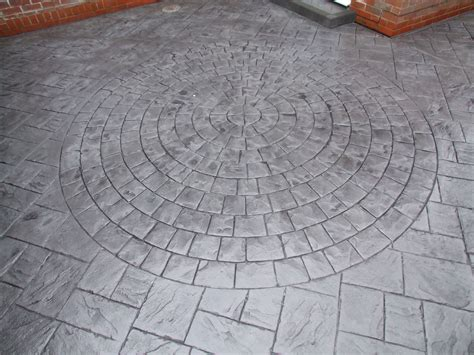 Imprinted Concrete Mats by Outer Circle 9ft