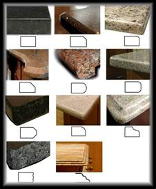 Granite Countertop Edges Types Of Granite Countertops Images