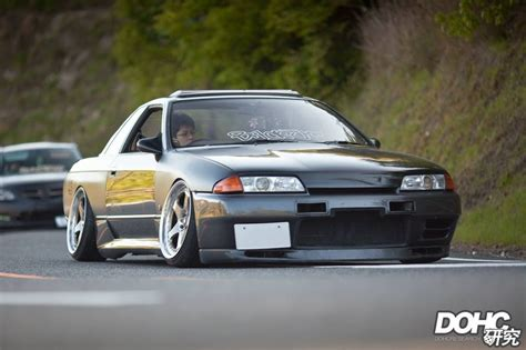stanced nissan skyline stanced gtr r32 drift cars drifting cars