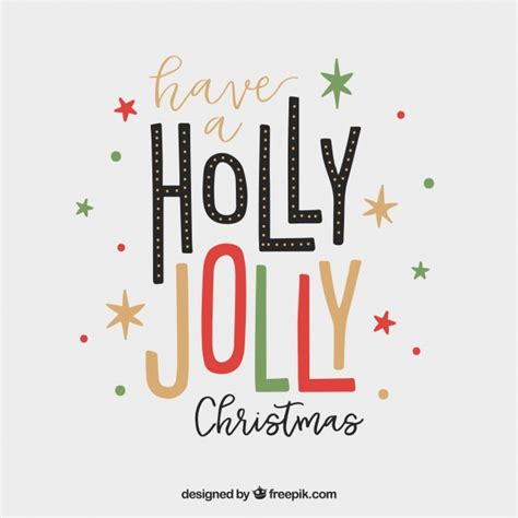 have a jolly holiday with holly jolly vectors photos and psd files free download