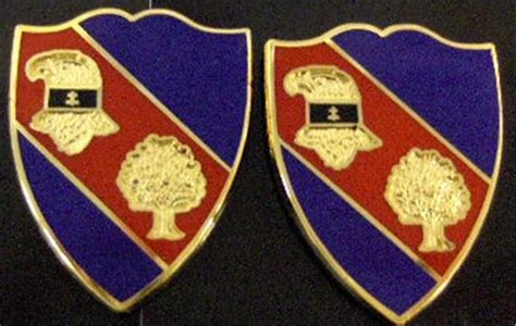 Gildan Civil War 354th regiment bct usar distinctive unit insignia pair