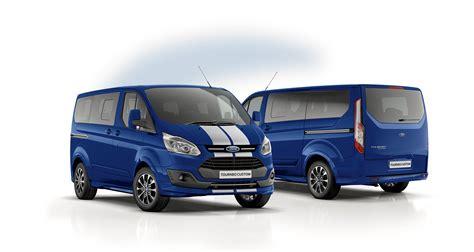 Ford Custom by Ford Transit Custom Black Edition Ab Sofort Erh 228 Ltlich