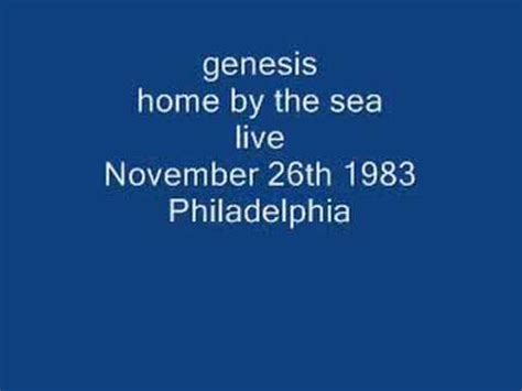 genesis home by the sea live