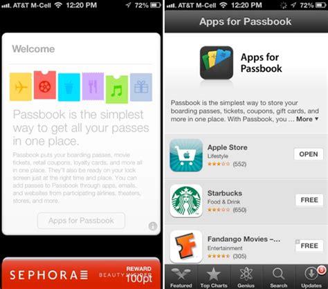 Redeem Apple Gift Card Passbook - minor change in ios 6 1 makes it easier to find passbook enabled apps mac rumors