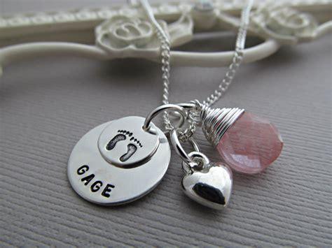 personalized new necklace baby name by vonmeyerjewelry