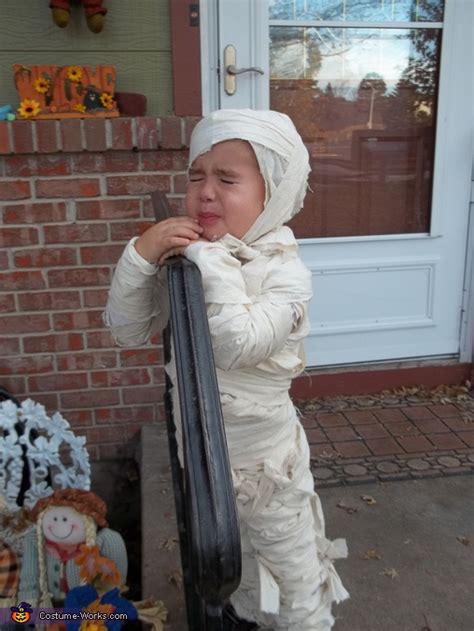 crying mummy costume unique diy costumes