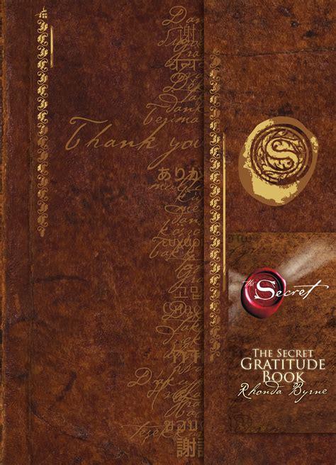 secret book the secret gratitude book book by rhonda