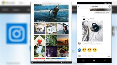 instagram for android tablet you can now maintain instagram from windows 10 pcs and tablets