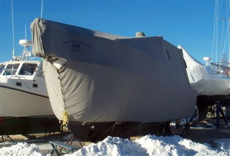 custom boat covers winter boat covers fisher canvas