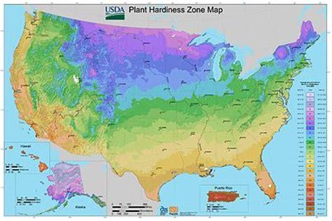 gardening growing zones hardiness zone