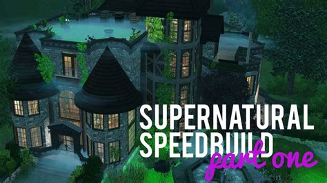 Building A House Ideas the sims 3 speed build supernatural build part one w