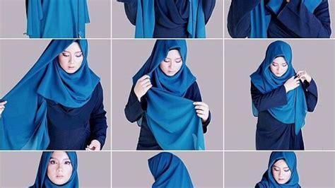 tutorial jilbab pesta menutupi dada 8 tutorial jilbab menutup dada untukmu yang ingin bergaya