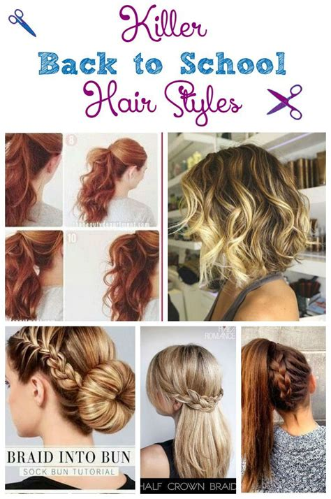 hair style for morning killer back to school hair styles for teens the morning
