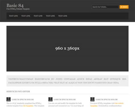 html5 basic template basic 84 free html5 template html5 templates os templates