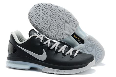 picture of nike zoom kd 5 elite black and white kevin
