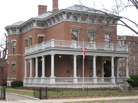 benjamin harrison house indianapolis benjamin harrison his life family and his homes