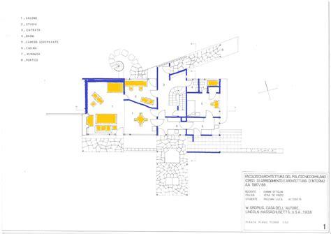 gropius house floor plan gropius house plan escortsea