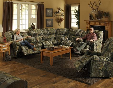 Catnapper Cuddler Sectional 3375 Set Homelement Com Camo Living Room Furniture