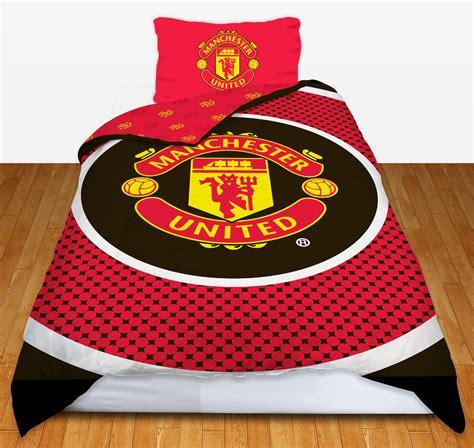 manchester united bed linen manchester united football club utd fc single duvet
