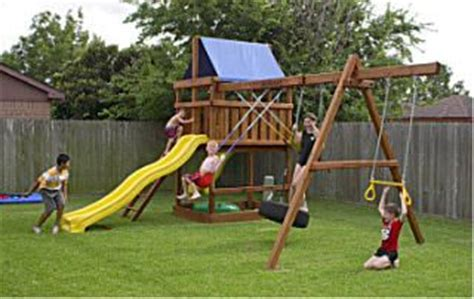 do it yourself swing set do it yourself backyard playground plans woodworking
