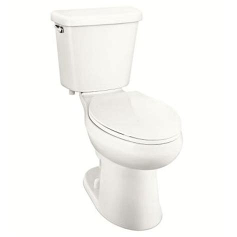 glacier bay 2 1 0 gpf single flush elongated toilet