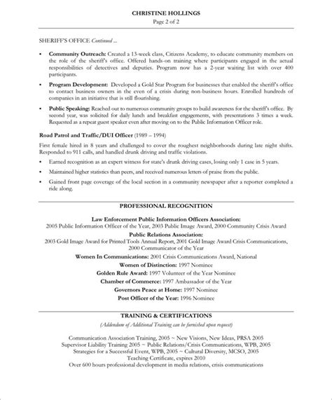 Community Relations Manager Sle Resume by Relation Resume Templates 28 Images Sle Resume For Relations Officer Creative Click Here To