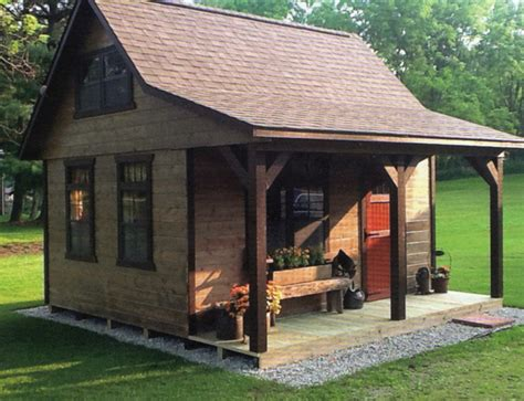 frame cabin style
