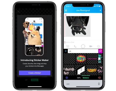 giphy updates  sticker maker feature  iphone