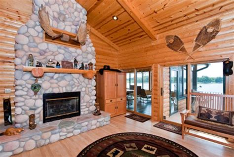 log home interior design ideas decorating ideas for log cabin home room decorating