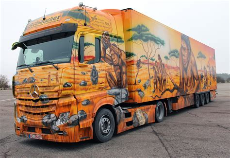 Auto Lackieren In Der Nähe by A History Lesson On Wheels Mercedes Benz Actros