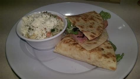 Zoes Kitchen Glen Mills by The Rosemary Ham And Mozzarella Piadina Soo