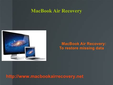 Macbook Air Estore macbook air recovery to get back lost mac files